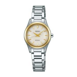 セイコー エクセリーヌ SWCQ094 レディース 腕時計 コンフォテックス ダイヤシールド SEIKO ソーラー時計 新品|oomoritokeiten