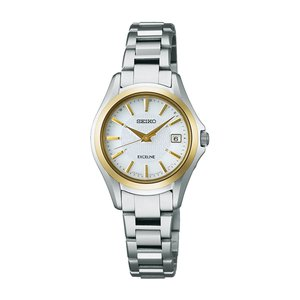 セイコー エクセリーヌ SWCW098 レディース 腕時計 コンフォテックス チタン SEIKO ソーラー電波時計 新品|oomoritokeiten