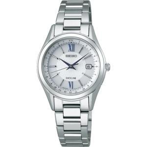 セイコー エクセリーヌ SWCW115 レディース 腕時計 コンフォテックス チタン SEIKO ソーラー電波時計 新品|oomoritokeiten