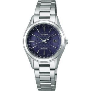 セイコー エクセリーヌ SWCW117 レディース 腕時計 コンフォテックス チタン SEIKO ソーラー電波時計 新品|oomoritokeiten
