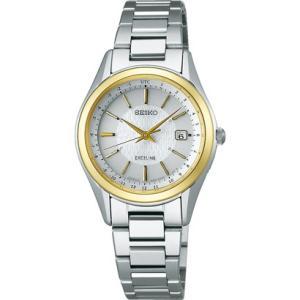 セイコー エクセリーヌ SWCW118 レディース 腕時計 コンフォテックス チタン SEIKO ソーラー電波時計 新品|oomoritokeiten