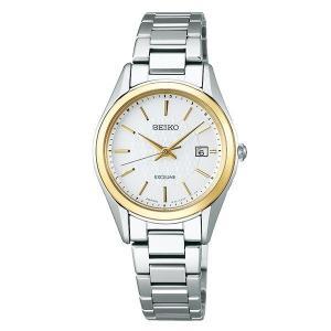 セイコー エクセリーヌ SWCW148 レディース 腕時計 コンフォテックス チタン SEIKO ソーラー電波時計 新品|oomoritokeiten