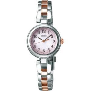 セイコー ティセ SWFA165 レディース 腕時計 ピンクゴールド SEIKO ソーラー時計 新品|oomoritokeiten