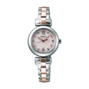 セイコー ティセ SWFH043 レディース 腕時計 ピンクゴールド SEIKO ソーラー電波時計 新品|oomoritokeiten