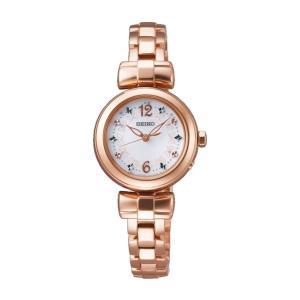 セイコー ティセ SWFH044 レディース 腕時計 ピンクゴールド SEIKO ソーラー電波時計 新品|oomoritokeiten