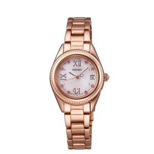 セイコー ティセ SWFH066 レディース 腕時計 ヴィーナススパ コラボレーション限定モデル ピンクゴールド SEIKO ソーラー電波時計 新品|oomoritokeiten