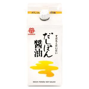 鎌田醤油 だしぽん醤油 ( ぽん酢入りだし醤油 ) 200ml|oomoriya