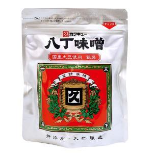 カクキュー八丁味噌 300g 銀袋 無添加 国産大豆 豆みそ|oomoriya
