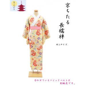 京ちたる友禅長襦袢 ・ M/Lサイズ・No, 02A|oooka529