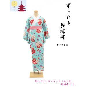 京ちたる友禅長襦袢 ・ M/Lサイズ・No, 02B|oooka529
