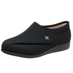 快歩主義L011-5E ブラックストレッチ 健康・快適シリーズNo,1 ブランドASAHI もっと元気になれる靴 oooka529