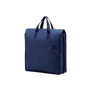 和装持ち運びバック・布織布  /  紺色。軽くて便利|oooka529