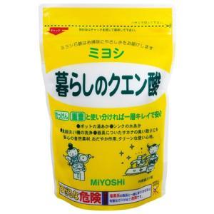 ミヨシ 暮らしのクエン酸 330g|oosaki