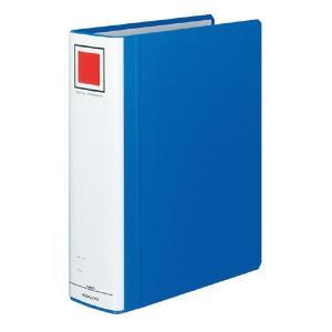 チューブファイル<エコツイン>S型 収納幅7cm フ-RT670B 青|oosaki