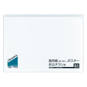 クリヤーブック<ideamix>(固定式・サイドスロー) B3タテ10枚ポケット ラ-DEAS16|oosaki