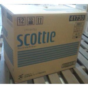 スコッティティシュー 200組 5箱パック 1ケース販売(12パック入り)|oosaki