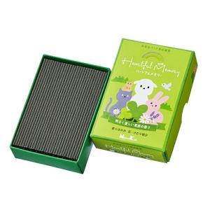 日本香堂 ペット用お線香 ハートフルメモリー 草原の香り|oosaki