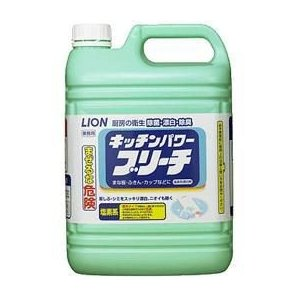 【送料無料(一部地域除く)】【1ケースまとめ買い3本】ライオン キッチンパワーブリーチ 5kg|oosaki