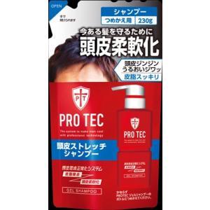 ライオン PROTEC頭皮ストレッチシャンプー つめかえ用 230g|oosaki
