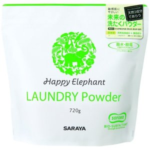 HAPPY ELEPHANT 洗たくパウダー 720g|oosaki