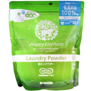 サラヤ ハッピーエレファント 洗たくパウダー(1.2kg) oosaki