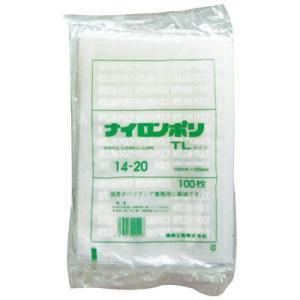福助工業 真空袋ナイロンポリ TL 14-20 100枚