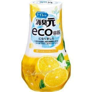 トイレの消臭元 爽やかはじけるレモン400ml|oosaki