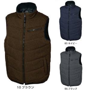 (アウトレット・在庫処分) シンメン 2350 カチオンヘリンボーン中綿ベスト M〜5L 防寒ベスト 防寒ウェア ワークウェア oosumi-marutake