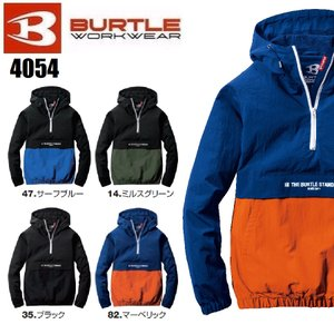 バートル 4054 アノラックパーカ (ユニセックス) BURTLE S〜XXL 撥水加工 防風|oosumi-marutake