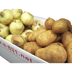 野菜セット(根菜類セット) (内容 人参1kg・玉ねぎ2kg・メークイン2kg) 1箱(5kg) 北海道産|ootsuru