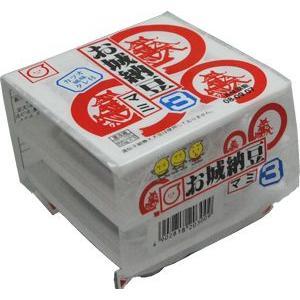 九州産 お城納豆 40g×3(120g) 丸美屋(九州産・熊本) 【冷蔵】|ootsuru