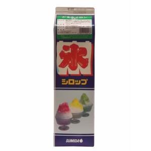 【クリポス不可】スミダ飲料 かき氷メロン*1.8L|ootuki
