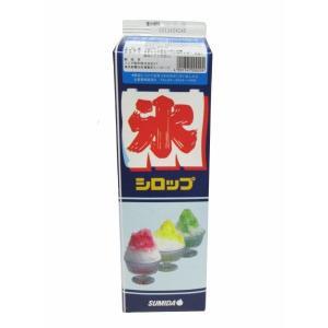 【クリポス不可】スミダ飲料 かき氷ブルーハワイ*1.8L|ootuki