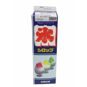【クリポス不可】スミダ飲料 かき氷グレープ*1.8L|ootuki