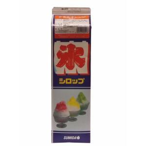 【クリポス不可】スミダ飲料 かき氷オレンジ*1.8L|ootuki
