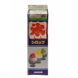 【クリポス不可】スミダ飲料 かき氷青りんご*1.8L|ootuki