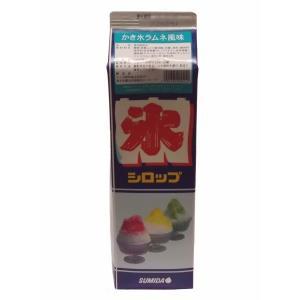 【クリポス不可】スミダ飲料 かき氷ラムネ風味*1.8L|ootuki