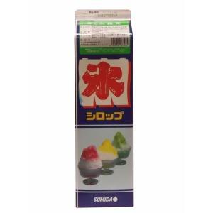 学園祭 お祭り スミダ飲料 かき氷抹茶*1.8L|ootuki