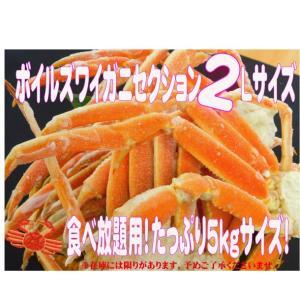 【クリポス不可】【クール便発送】ボイルズワイセクション2L(船内凍結)5kg ootuki