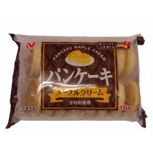 【クリポス不可】【クール便発送】ニチレイ パンケーキ(メープルクリーム)*28gx16ヶ|ootuki