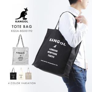 カンゴール KANGOL トートバッグ totebag お洒落 人気 トレンド ロゴ ロゴデザイン 20代 30代 10代 ブラック ベージュ ユニセックス スポーティー opabinia