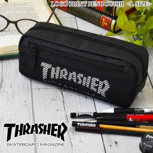 フロントメッシュ仕様で、 マチもしっかりとある、 「THRASHER」のポーチになります。  フロン...