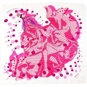 エルメス HERMES スカーフ カレ90 iHOLA FLAMENCA! オラ・フラメンカ シルク100% 美品【Z2-1452】|opal-shop1