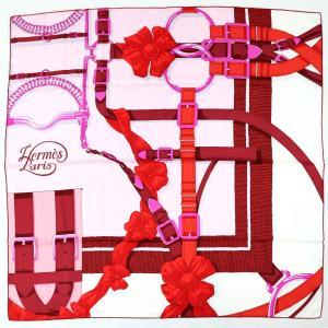 エルメス HERMES スカーフ カレ90 GRAND MANEGE 大調教術 シルク100% 未使用【Z2-1456】|opal-shop1