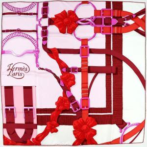 エルメス HERMES スカーフ カレ90 18AW GRAND MANEGE DETAIL 大調教術 シルク100% 新品同様【Z1-1916】|opal-shop1
