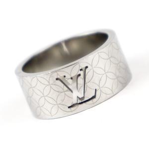 ルイヴィトン LOUIS VUITTON バーグ シャンゼリゼ LVロゴ 指輪 リング M65456 シルバー 19.5号【Z1-3633】|opal-shop1