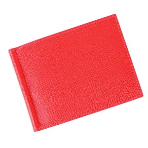 エルメス HERMES ポーカーGM マネークリップ 二つ折り財布 ウォレット エプソン T刻印 2...