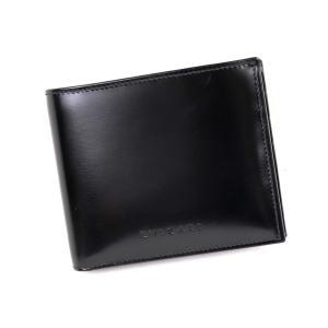 ブルガリ BVLGARI スムースレザー 二つ折り財布 レザーウォレット 黒 未使用【Z2-4748】 opal-shop1