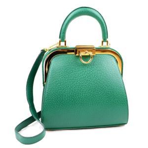 クリスチャンディオール Christian Dior ヴィンテージ 2way レザーショルダーバッグ ハンド デッドストック ゴールド金具 緑【K2-5264】|opal-shop1