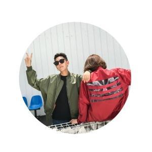 スタジャンパーカー野球服長袖スポーツウエアスポーツパーカーレディースペアルックジャケットアウター迷彩ゆったり大きいサイズ open-clothes